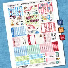 Free Alice in Wonderland Weekly Kit THP