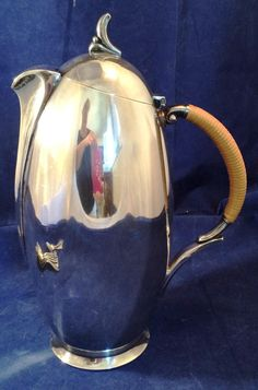 MCM 1847 Rogers Silverplate FLAIR tea or coffee pot