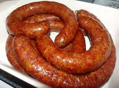 Venison Jalapeno Cheese Sausage Griffin' s Grub Venison Sausage Recipes, Summer Sausage Recipes, Brats Recipes, Homemade Sausage Recipes, Deer Recipes, Jerky Recipes, Game Recipes, Venison Brats Recipe, Sausage Spices