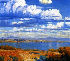 Maurice Braun - Bay and City of San Diego (also known as San Diego from Point Loma),1910