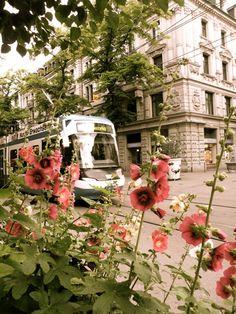 A tram in Zurich, Switzerland Copyright: Rachel Hill