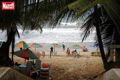 Une Américaine qui se trouvait sur une plage de Virginie est morte, empalée par un parasol.