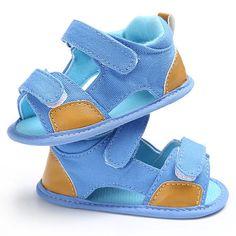 Baby Boys Denim Sandals #Boys, #Affiliate, #Baby, #Sandals, #Denim #Adver Toddler Shoes, Baby Shoes, Baby Sandals, Dark Blue, Light Blue, Korean Fashion Street Casual, Denim Sandals, High Top Sneakers, Wedges