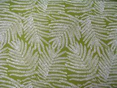 Vintage fern fabric ~ Rachel Robertson