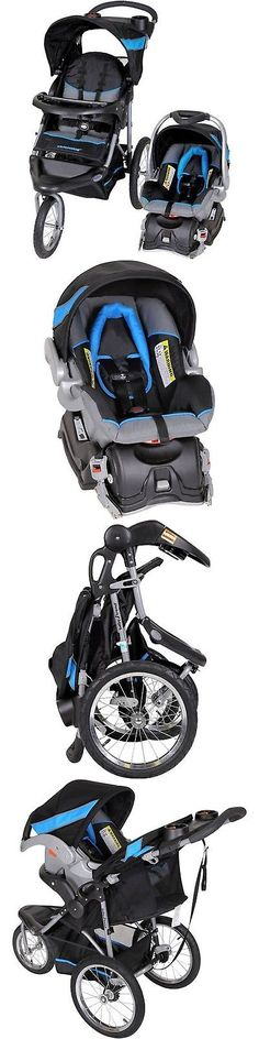 baby and kid stuff: Baby Trend Expedition Jogger Travel System Millennium Blue 3In1 Stroller Car BUY IT NOW ONLY: $160.52