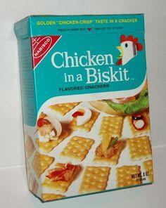 Nabisco Flavor Originals Chicken In A Biskit Snack