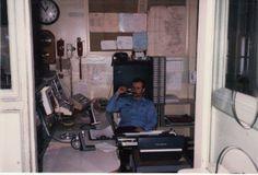 Joel Carlisle at the despatch. 1980's.