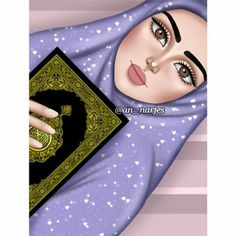 A scarf is the most important element in the outfits of women using hijab. Because doing so is central to the Cartoon Girl Drawing, Girl Cartoon, Cartoon Art, Girly M, Sarra Art, Instagram Cartoon, Disney Alphabet, Hijab Drawing, Islamic Cartoon