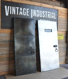 Custom Doors by Vintage Industrial Furniture