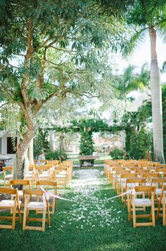 garden ceremony | Shea Christine Photography | Glamour & Grace