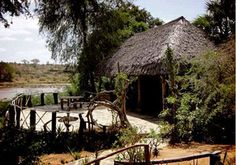 Kulalu Camp is a tented camp in Kulalu Ranch, Tsavo national park, close to Galana conservancy Kenya. An amazing place to visit in tsavo national park safari. Water Catchment, Large Tent, Cool Places To Visit, Beautiful Landscapes, Kenya, Banks, Acre, The Good Place