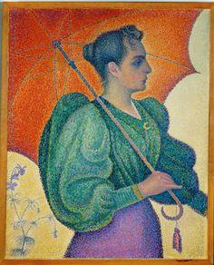 Woman with an Umbrella 1893 Paul Signac