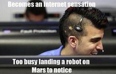 Bobak Ferdowsi, NASA Mars mission
