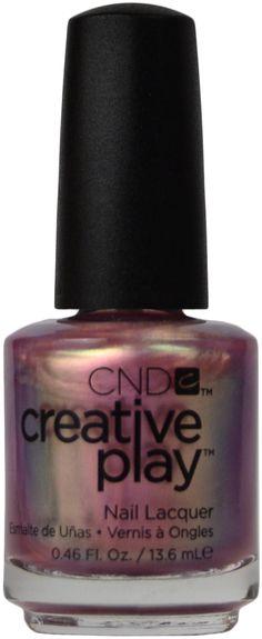 CND Creative Play Pinkidescent, Free Shipping at Nail Polish Canada