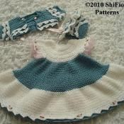 Dress Baby Crochet Pattern #156 - via @Craftsy