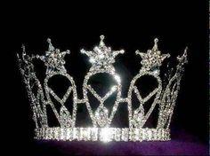 Miss Beauty Pageant Rhinestone Crown Tiara