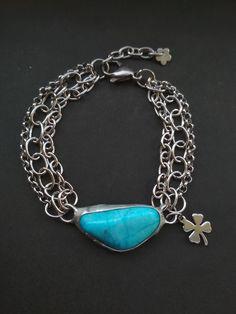 Tyrkenitový náramok z chirurgickej ocele Turquoise Bracelet, Bracelets, Jewelry, Jewlery, Jewerly, Schmuck, Jewels, Jewelery, Bracelet