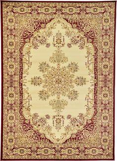 Isfahan Cream Area Rug