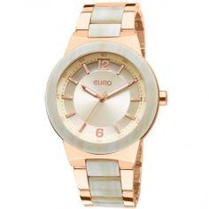 Relógio Feminino Auchel Eu2035fhq/2x - Rose Euro