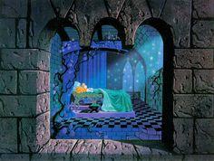 1957 Sleeping Beauty Castle - Sleeping Beauty sleeps | por Tom Simpson