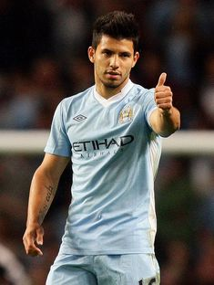 sergio aguero- hate Manchester city but I like him :)