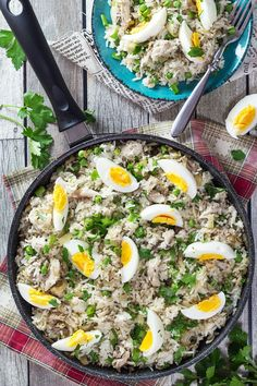 Kedgeree – British Rice with Smoked Fish – Dan330