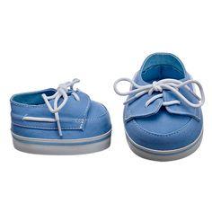 Powder Blue Deck Shoes | Build-A-Bear Workshop