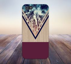 Violet Forest x Navy Chevron Wood Design Case for iPhone 6 6 Plus iPhone 5 5s 5c 4 4s Samsung Galaxy s6 s5 s4 & s3 and Note 5 4 3 2 by CaseEscape on Etsy https://www.etsy.com/listing/218976107/violet-forest-x-navy-chevron-wood-design