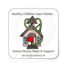 school nurse stickers... how cute!