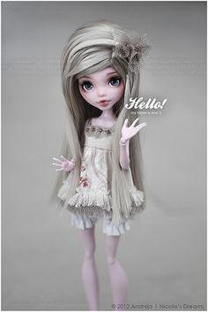 (by ***Andreja***) Custom monster high doll.