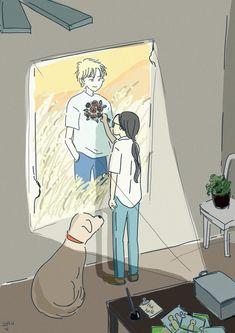 Manga Anime, Sad Anime, Fanarts Anime, Anime Characters, Anime Art, Pretty Art, Cute Art, Otaku, Banana Art