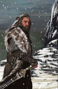Thorin Oakenshield - The Hobbit by JBarrero
