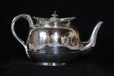 English Teapot Victorian Teapot England Teapot by AntiqueTalentArt