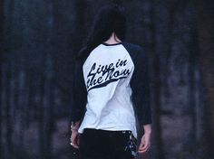 Hallow Collective - Live In The Now Baseball Shirt Back