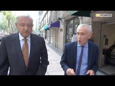 López Obrador caminando con Jorge Ramos por las calles de la Ciudad de México - YouTube