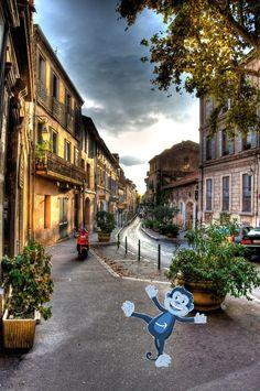 Monkey à Aix-en-Provence !