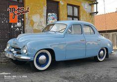 Škoda 1200 - Prospekt (1958) Vintage Cars, Antique Cars, Veteran Car, Vw Group, Old Cars, Volkswagen, Classic Cars, Automobile, Audi