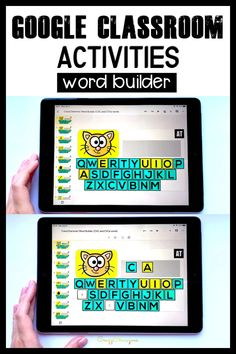 """""""Great for my kids that need intervention. Nice way to learn the keyboard as well :)"""" Sight Word Games, Sight Word Activities, Hands On Activities, Kindergarten Activities, Classroom Activities, Classroom Ideas, Preschool, Balloon Words, Cvce Words"""