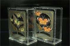 Acrylic Coin Banks  Hand Crafted and Hand Decorated. and Items are 100% proudly Made in USA