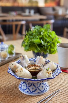 Authentic Vietnamese food at Madame Saigon.