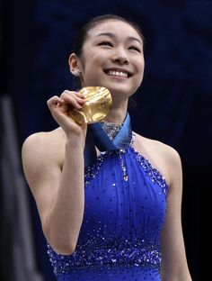 - Vancouver 2010 Winter Olympics - figuer skater Yuna Kim