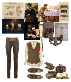 """""""Newt Scamander -Fantastic Beasts and Where to Find Them"""" by acid-jazz-singer ❤ liked on Polyvore featuring ASOS, Joseph, Ralph Lauren, Wet Seal, Ash and Beautiful People"""