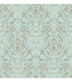 WallPops® NuWallpaper™ Nomad Damask Peel and Stick Wallpaper,