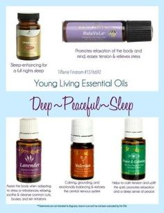 Young Living Essential Oils: Sleep by EOgirl