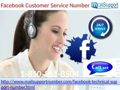Can Facebook Customer Service 1-850-361-8504 fix sign in issues? Yes, of course. Our Facebook Customer Service can definitely solve your login issues within short span of time. But, we don't know why do people afraid to dial our toll-free number 1-850-361-8504 ? As far as my knowledge is concerned, 'No man is an island' and hence, you can't solve all your Facebook problems on your won. For more info visit us: http://www.mailsupportnumber.com/facebook-technical-s. FACEBOOK CUSTOMER  SERVICE…