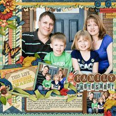 Family Photoshoot - Scrapbook.com