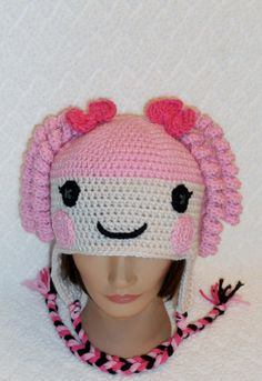 La La Loopsy Earflap Hat by BabySewCute on ETSY