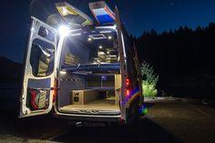 Point Break - Outside Van