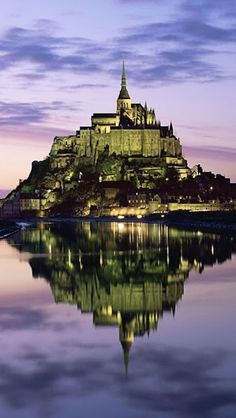 #Mont Saint-Michel, is one of #France's most recognized landmark and looks straight out of some fantasy novel. Located in the coast of #Normandy, it is one of the most visited tourist places.