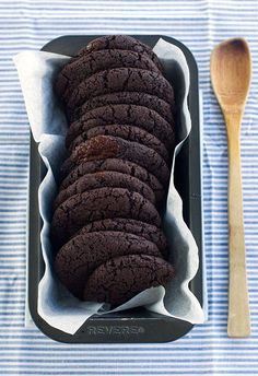 » Vegan double chocolate cookies - delicious, made them tonight... They seem too oily, but I just went with it and they turned out great.  May try again with avocado.